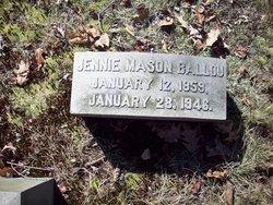 Jennie Mason Ballou