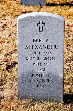 Berta Alexander