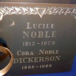 Cora Noble <i>Smith</i> Dickerson