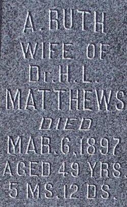 Azuba Ruth <i>Summers</i> Matthews
