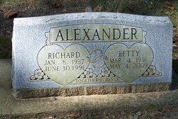 Betty Jane <i>Williams</i> Alexander