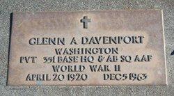 Glenn Arthur Davenport