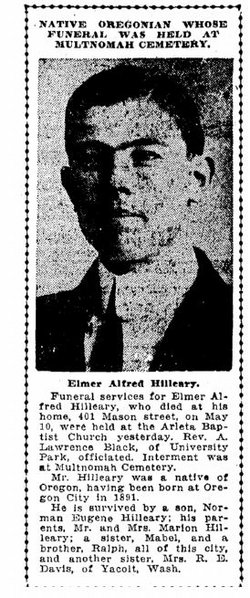 Elmer Alfred Hilleary