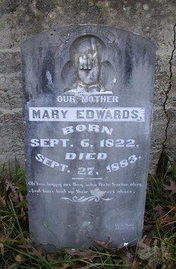Mary Elizabeth <i>Kitzmiller</i> Edwards