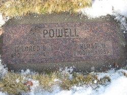 Mildred Lillian <i>Blair</i> Powell