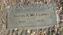 Rufus A McClung