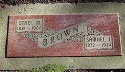 Ethel May <i>Thompson</i> Brown