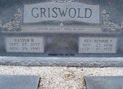 Rev Benjamin Franklin Griswold