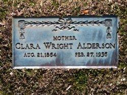 Clara Wright Alderson