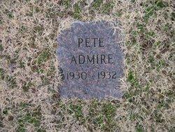 Pete Admire
