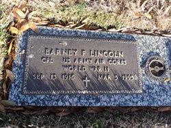 Barney F Lincoln