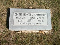 Edith <i>Howell</i> Anderson