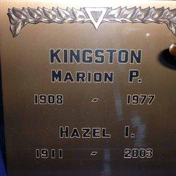 Marion P Kingston
