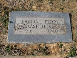 Pauline <i>Perry</i> Ashlock