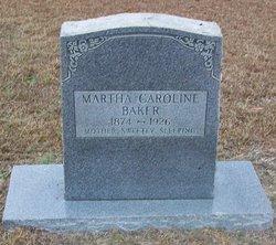 Martha Caroline Baker