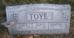 Sgt Joseph J Joe Toye