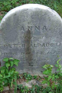 Anna <i>Apgar</i> Alpaugh