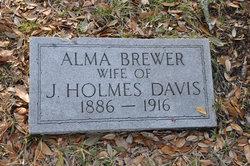 Alma <i>Brewer</i> Davis