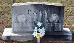 Eva Jane <i>Hodges</i> Barr