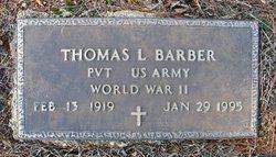 Thomas L Barber