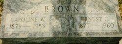 Caroline (Lena) <i>Hoffman</i> Brown