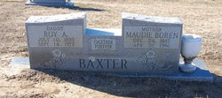 Maudie Elizabeth <i>Boren</i> Baxter