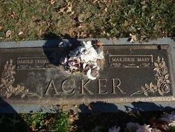 Marjorie Mary <i>Stokes</i> Acker