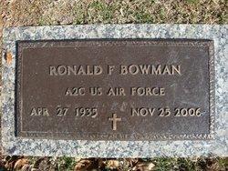 Ronald F. Bowman