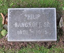 Philip Bancroft, Sr