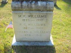 Mary Frances <i>Campbell</i> Williams