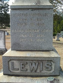 Sarah <i>Gorham</i> Lewis