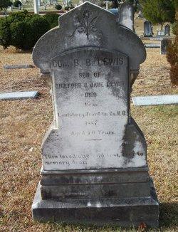 Col Benjamin B. Lewis