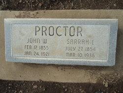 Sarrah E. Proctor