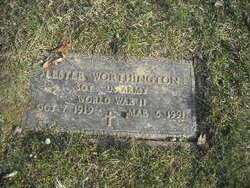 Sgt Lester Worthington