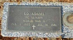 Ed Adams