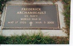 Frederick Archambeault