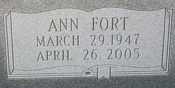 Ann <i>Fort</i> Bedgood