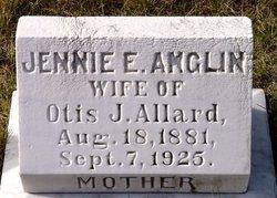 Jennie E <i>Anglin</i> Allard