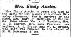 Emily O. <i>Brown</i> Austin