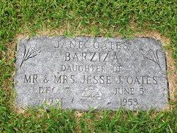 Jessie Jane <i>Oates</i> Barziza