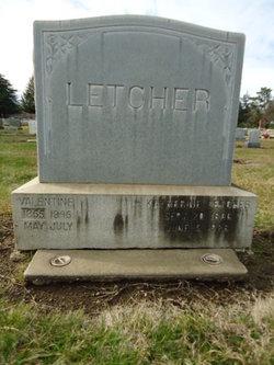 Katherine <i>Schneider</i> Letcher
