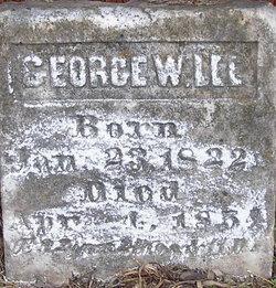 George W Lee