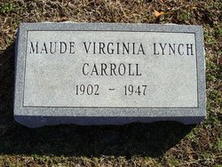 Maude Virginia <i>Lynch</i> Carroll