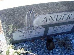 Callie <i>Magness</i> Anderson