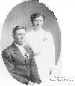 Susann Myrtle <i>Robinson</i> Abbott