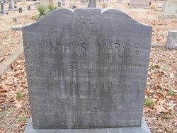 Mary Elizabeth <i>Bird</i> Adams