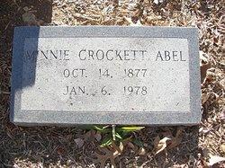 Minnie <i>Crockett</i> Abel