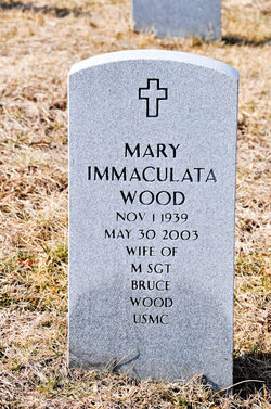 Mary Immaculata Wood