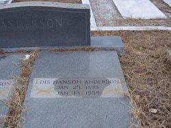 Lois <i>Hanson</i> Anderson