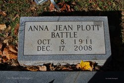Anna Jean <i>Plott</i> Battle